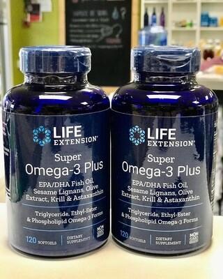 Life Extension Super Omega-3 + EPA/DHA Fish Oil