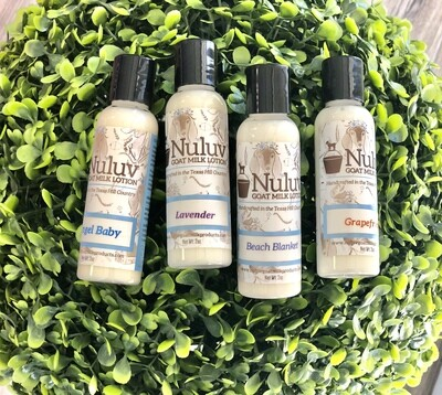 Nuluv Goat Milk Travel Lotion