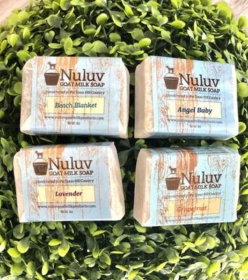 Nuluv Goat Milk Soap Bars