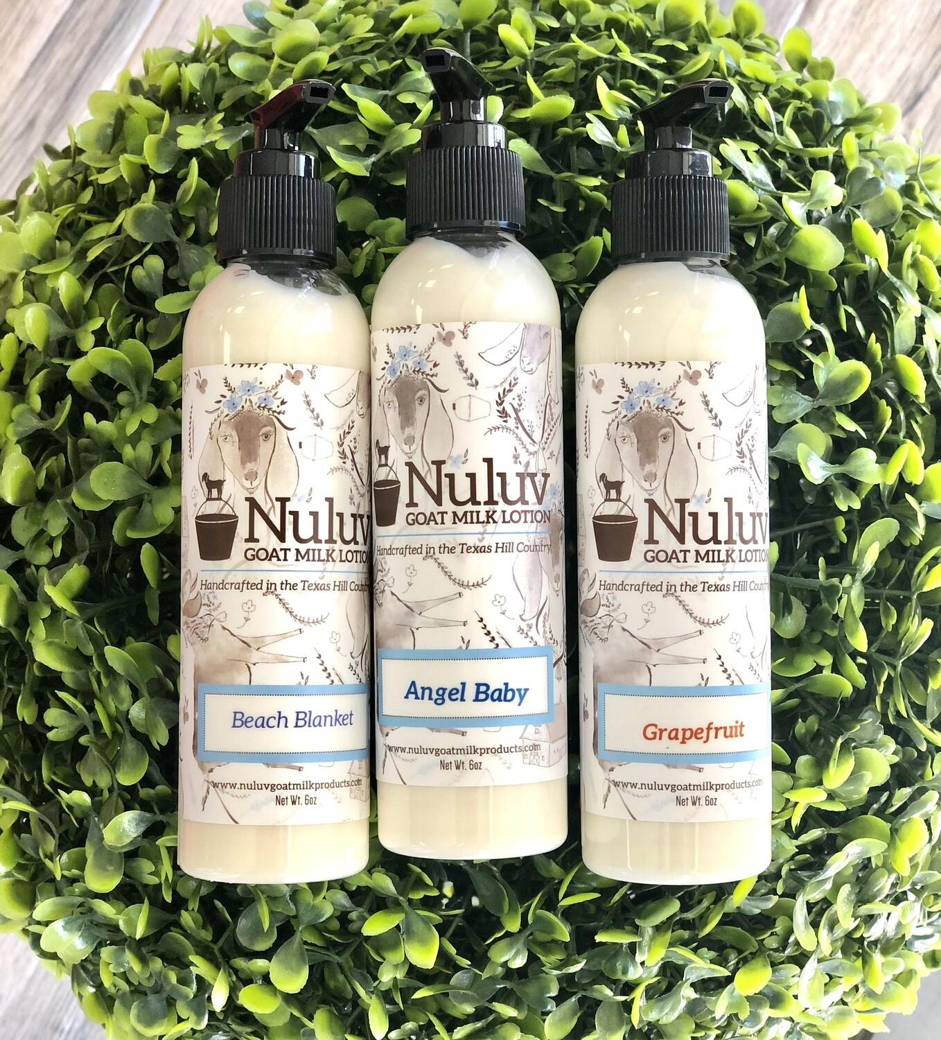 Nuluv Goat Milk Lotion