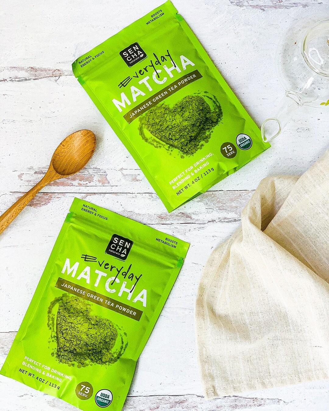 Sencha Everyday Matcha Green Tea Powder