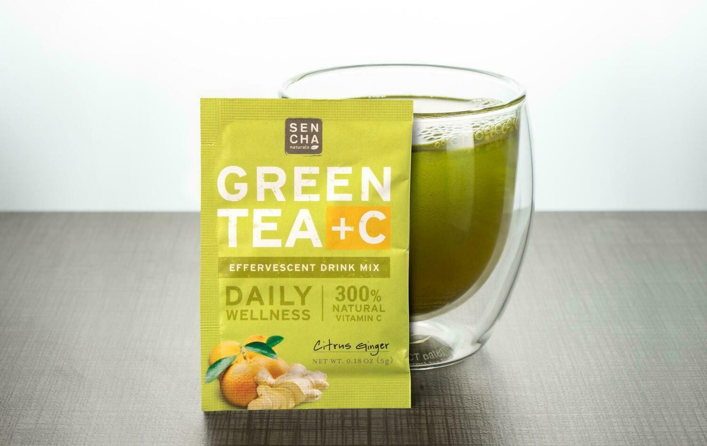 Sencha Green Tea + C
