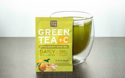 Sencha Green Tea + C