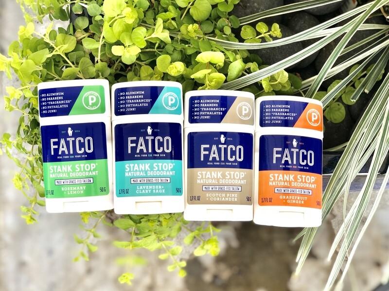 FATCO Stank Stop Natural Deodorant