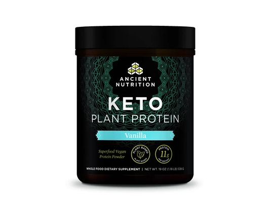 Ancient Nutrition Keto Plant Protein
