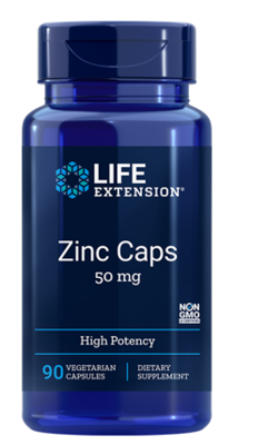 Life Extension Zinc Capsules