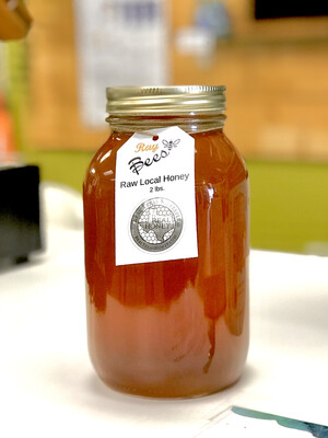 Queen Bee Honey 2lb