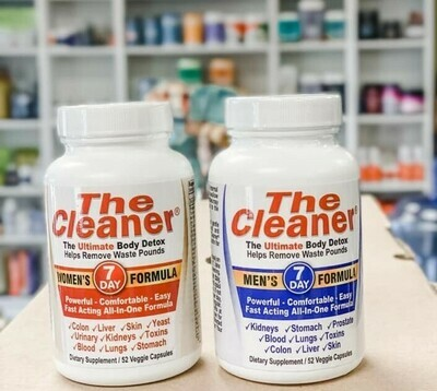 The Cleaner 7 Day Cleanse 52 ct