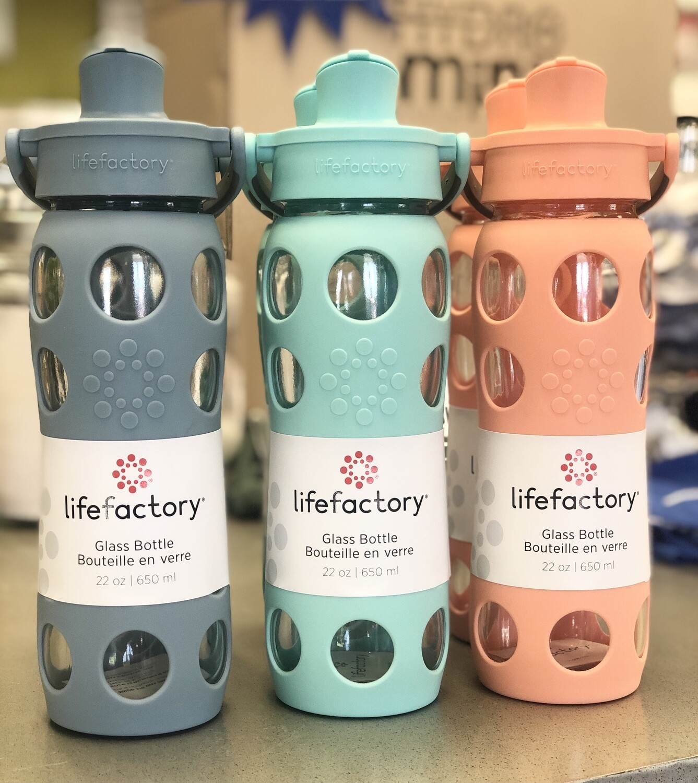 Life Factory 22oz Active Cap Bottles