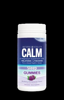 Natural Vitality Calm Sleep Gummies 120ct