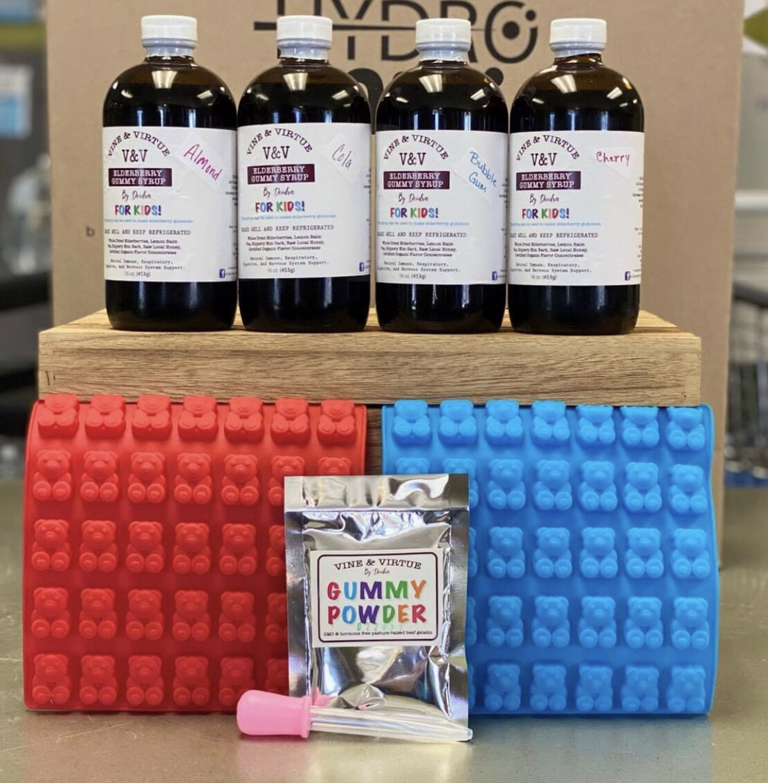 V&V Elderberry Gummy DIY Kits