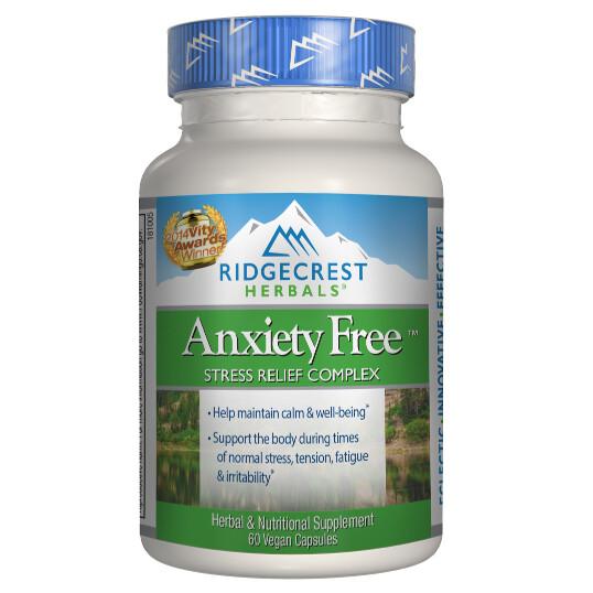RidgeCrest Herbals Anxiety Free