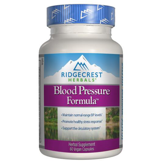 RidgeCrest Herbals Blood Pressure Formula 60ct
