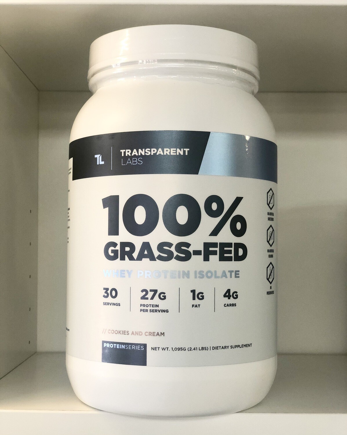 Transparent Labs 100% Grass-Fed Protein