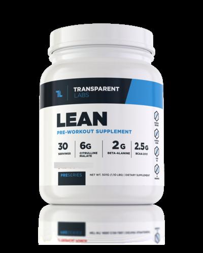 Transparent Labs Pre-Workout Lean
