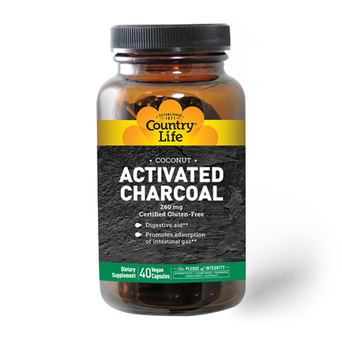 Activated Charcoal-Country Life 100caps