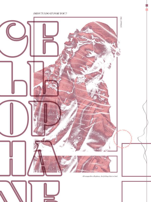 Cellophane Poster, Binz Poster, Gretel Poster, Sympathy Poster