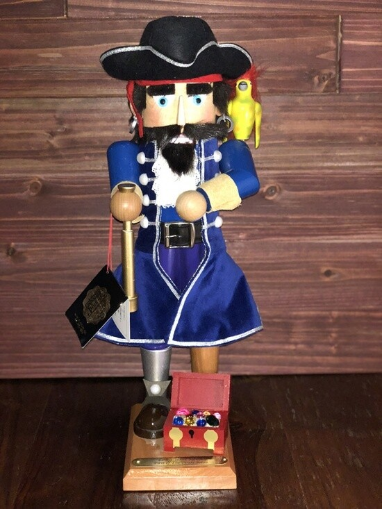 Long John Silver Nutcracker