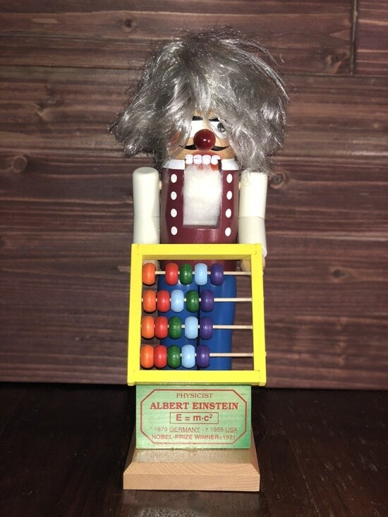 Albert Einstein Nutcracker