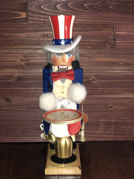 America The Beautiful Nutcracker and Music Box