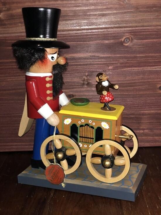 Berlin Organ Grinder Nutcracker and Music Box
