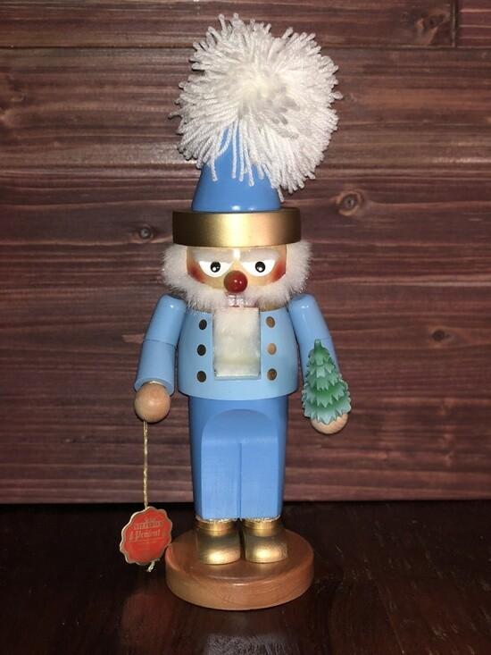 Blue Santa Nutcracker