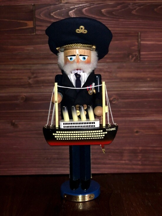 Captain Smith Nutcracker