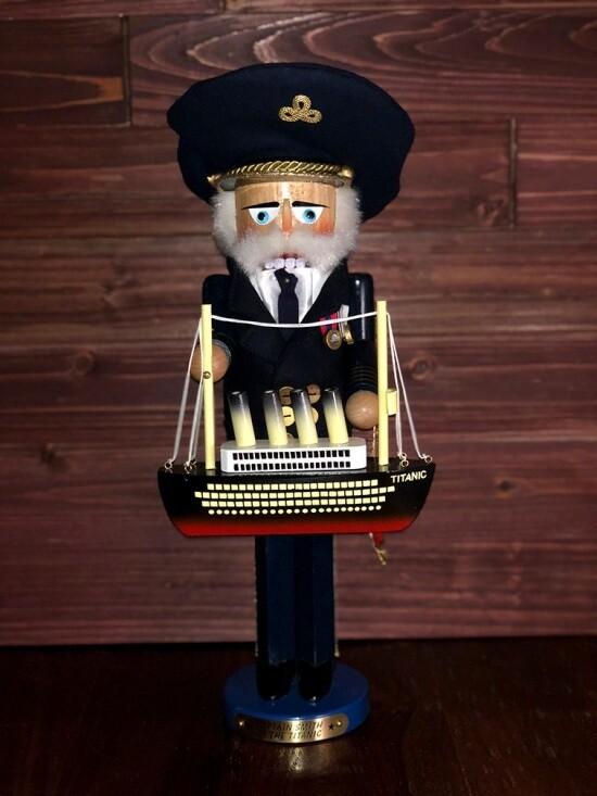 Captain Smith Nutcracker