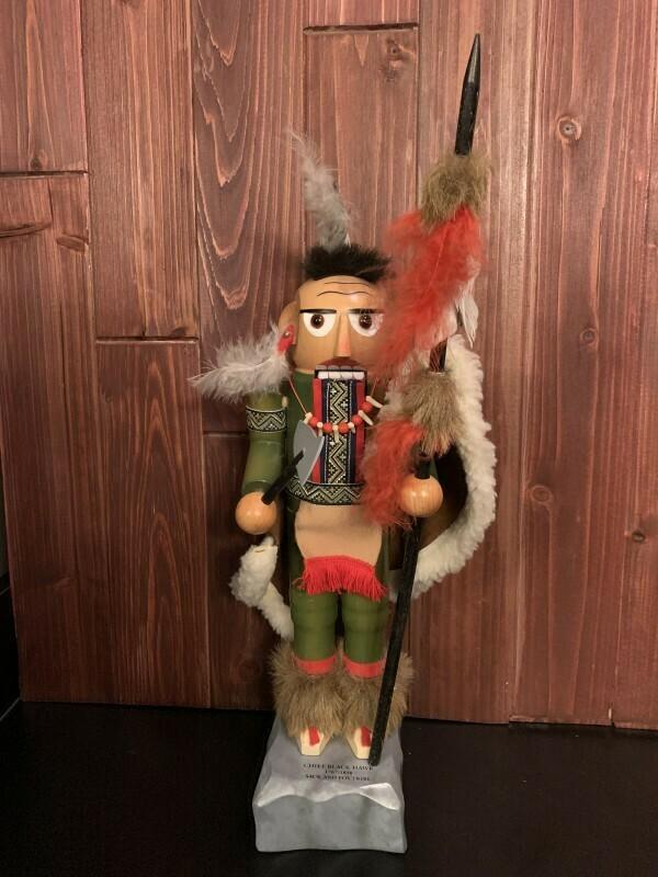 Chief Black Hawk Nutcracker