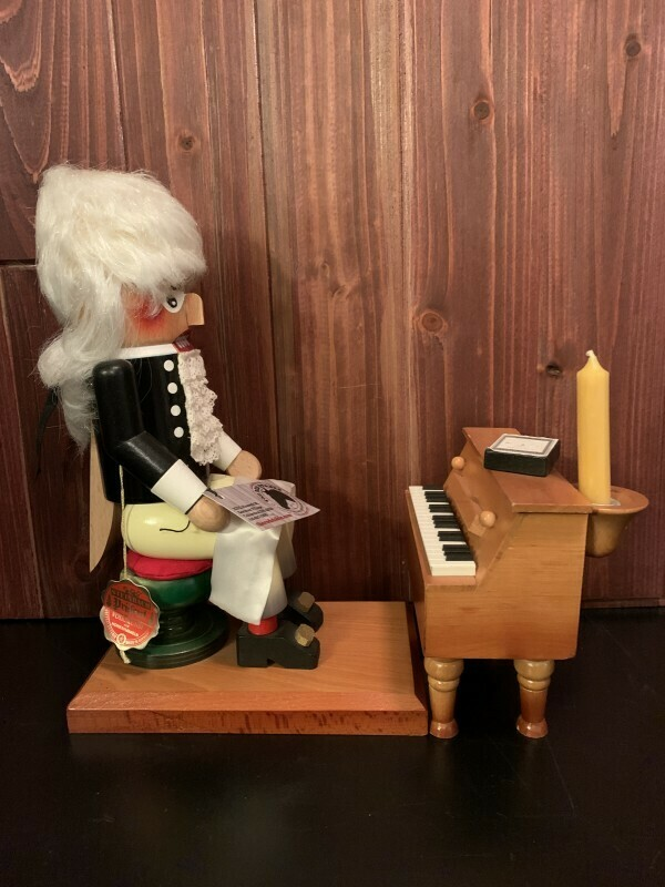 Chopin Reuge Piano Nutcracker & Music Box
