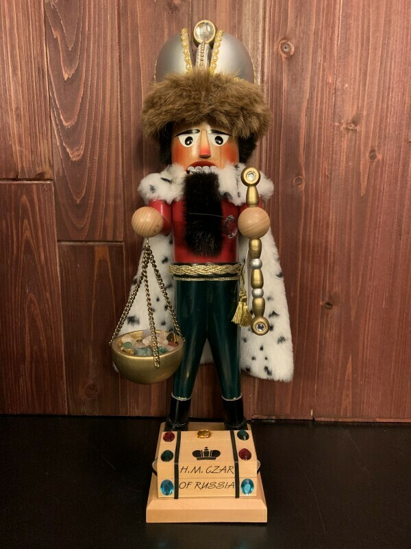 H.M. Czar of Russia Nutcracker