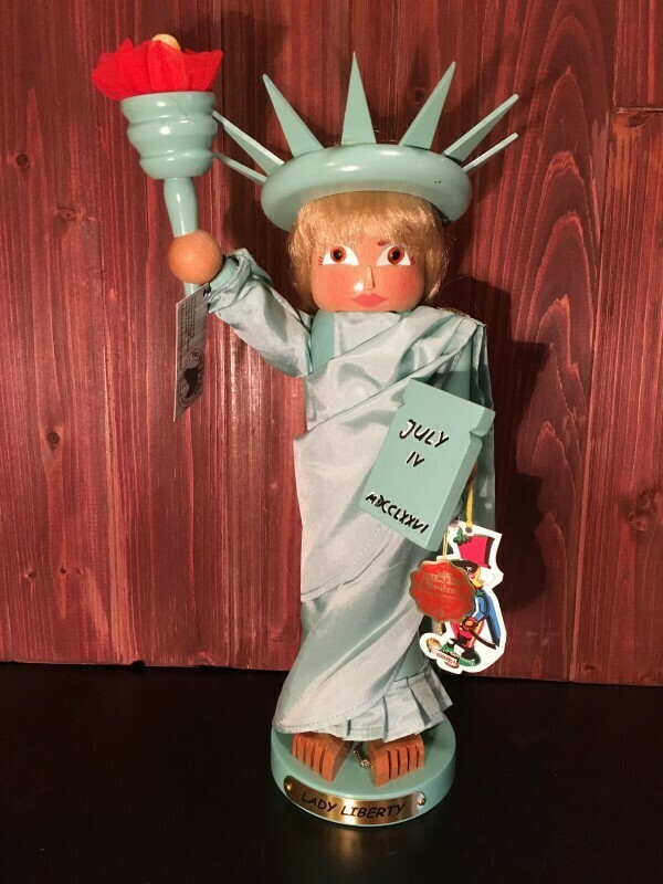 Lady Liberty Nutcracker