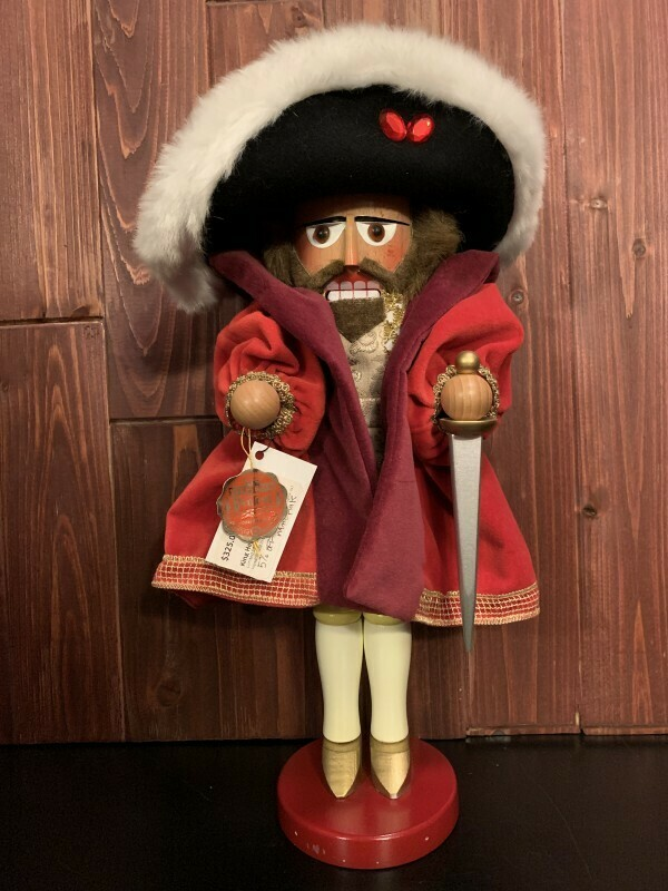 King Henry VIII Nutcracker