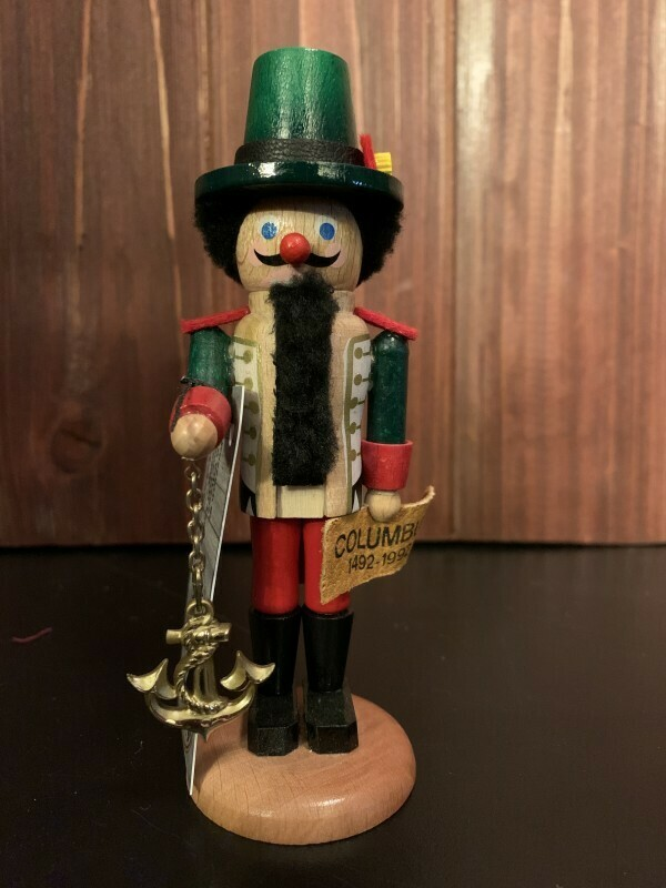 Columbus 1492-1992 Mini Nutcracker