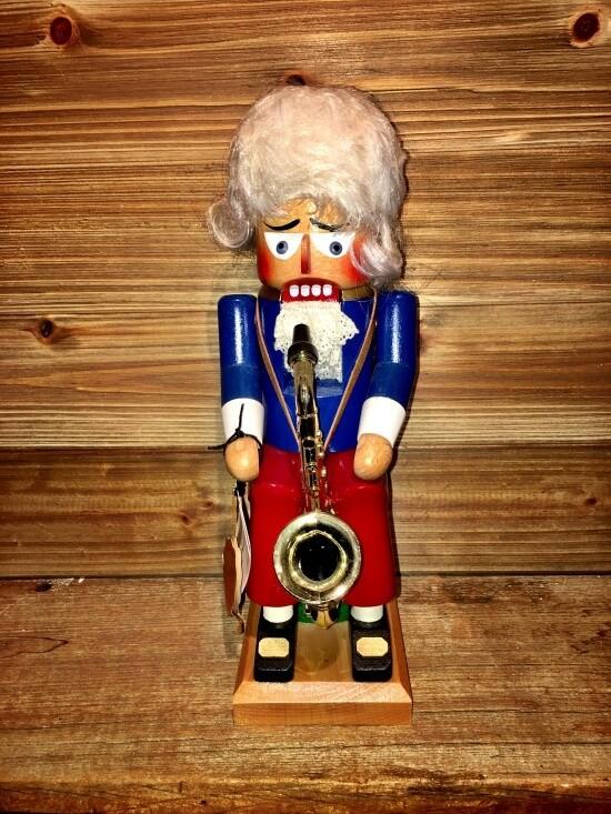 Saxophone Player Nutcracker