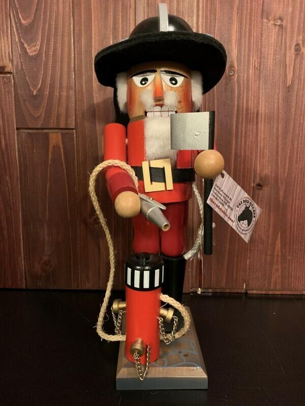 The Fire Master Fireman Nutcracker