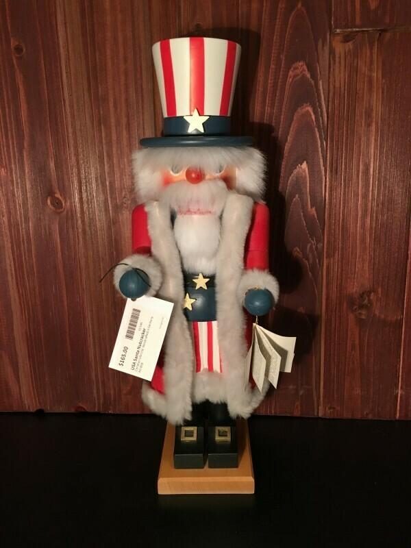 USA Santa Nutcracker