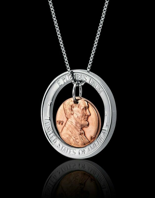 Lincoln Halo Necklace
