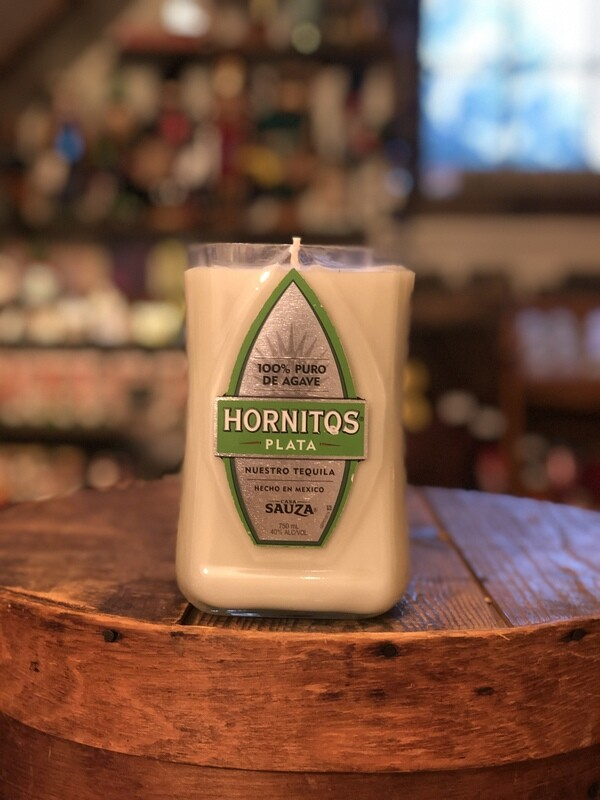 Hornitos Recycled Bottle Candle