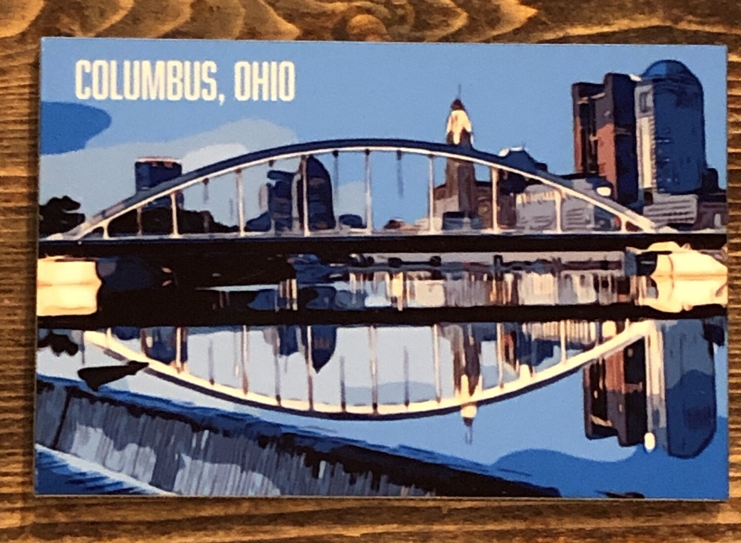 German Village and Columbus Magnets
