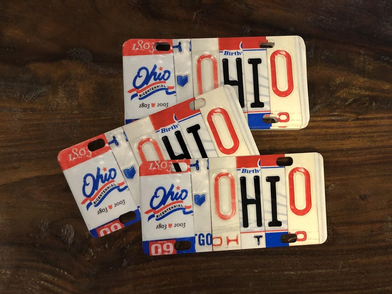OHIO Mini License Plate