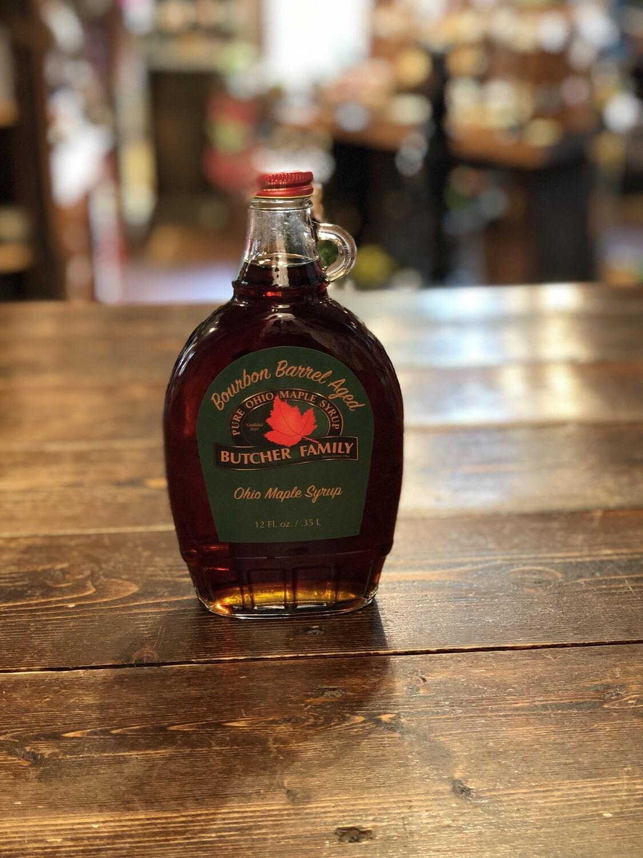 Bourbon Barrel Aged Ohio Maple Syrup