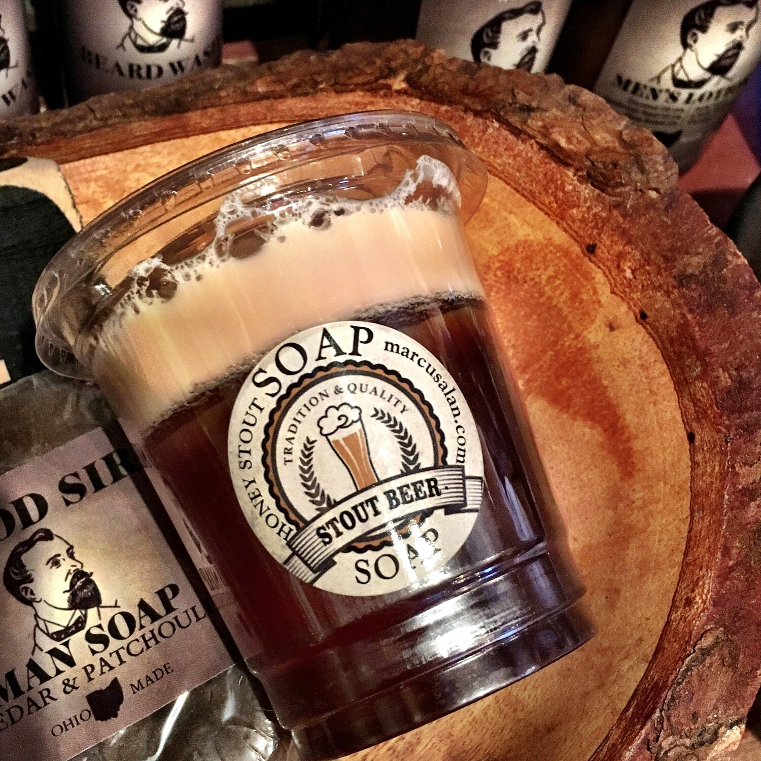 Pale Ale Stout - CUP-O-BEER Soap