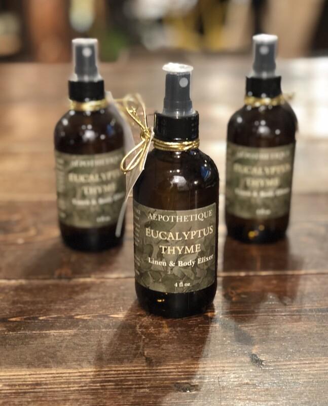 Eucalyptus & Thyme Linen & Body Elixir