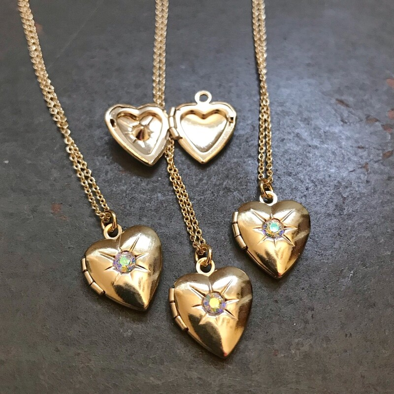 Dainty Heart Locket