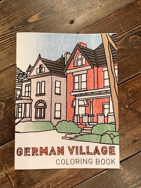 German Village Coloring Book