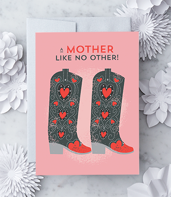A mother like no other Greeting Card