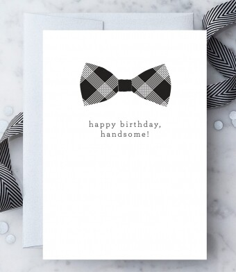 Happy Birthday, Handsome Birthday Card
