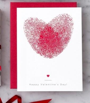 Thumbprint Love Greeting Card