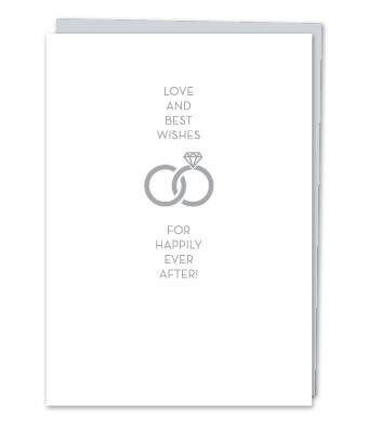 Love and Best Wishes - For happily ever after! Greeting Card